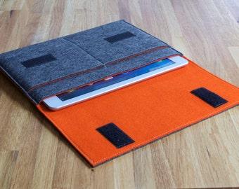 iPad Sleeve - iPad Case - iPad Cover - Various Colours - 100% Wool Felt