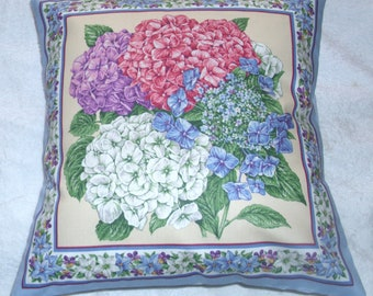 Pretty Hydrangeas cushion