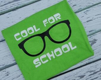 Cool For School  Shirt Teacher Shirt Student Shirt School Shirt