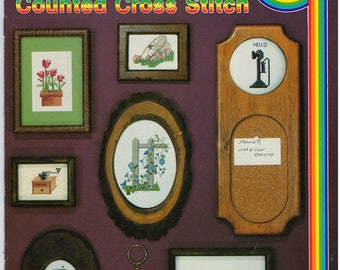 Cross Stitch Patterns – School House Of Counted Cross Stitch Book 3 – Vintage Cross Stitch Pattern Book – CC-3