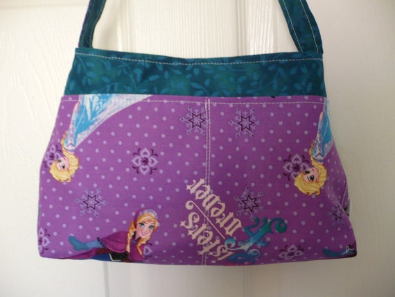 Frozen & Teal Mini Diaper Bag