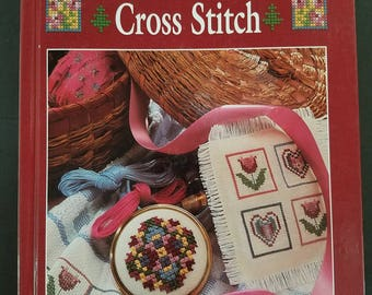 One-Hour Counted Cross Stitch Hardcover Book