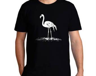 Flamingo Sketch T-Shirt