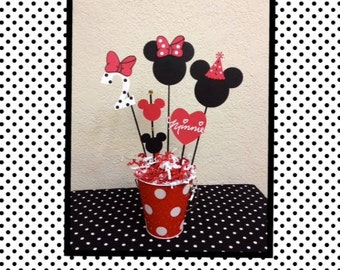 Minnie Mouse Birthday Decoration Centerpieces Baby Shower
