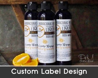 Custom Product Label Designs