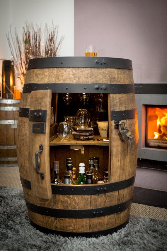 Bar-v Whisky-Fass Getränke Schrank
