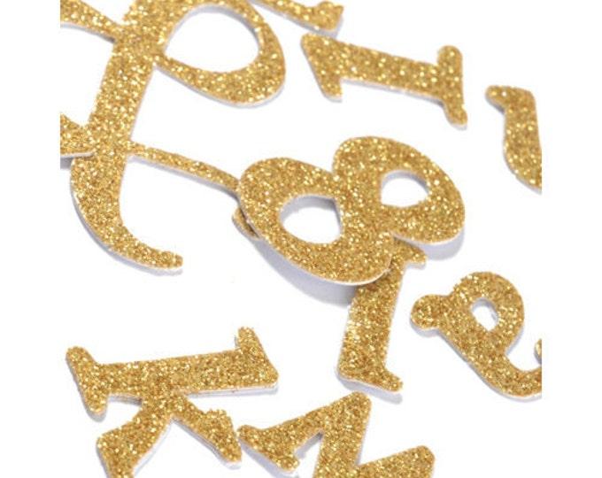 Glitter Letter Stickers, Glitter Number Stickers, Gold Letter Stickers and Silver Letters Stickers, Silver Number Stickers, Gold Numbers