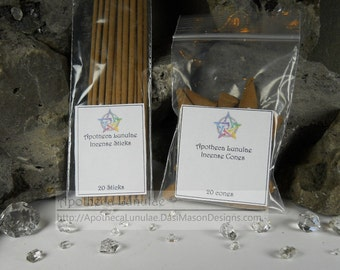 Fairy Essence Incense ***Alpine Frost - Blueberry*** Chose Your Scent