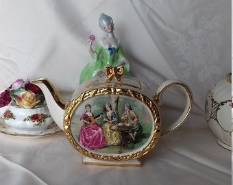 Sadler teapot pat No 1762  vintage tea party