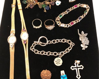 Vintage to Newer Jewelry Lot