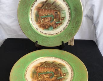 CENTURY by Salem 23 karat gold plate