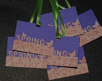 S A L E- 3 Hello Spring gift tags