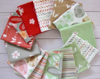 Garden Party Fat Quarter Bundle (14) by Jane Dixon for Andover Fabrics
