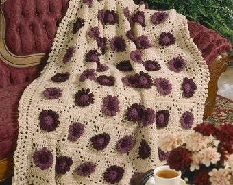 Chrysanthemum Afghan