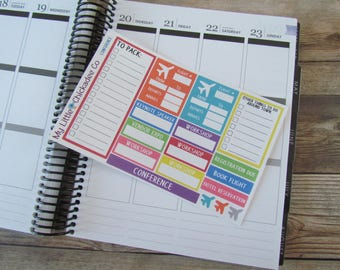 FN11 - Conference planner stickers