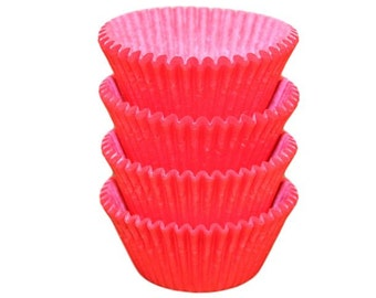 Red Baking Cups - Standard Size
