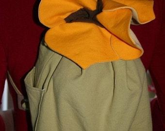 Tournesol sac à dos sac à main - sac à main fleur sur mesure