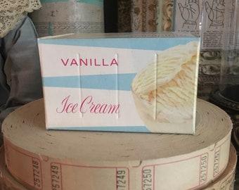 I Scream You Scream We All Scream For A Vintage Icecream Box