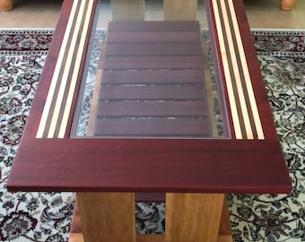 Vohrawoodworks center table, price includes shipping .