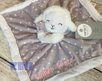 Embroidered Stuffed Animal Blanket