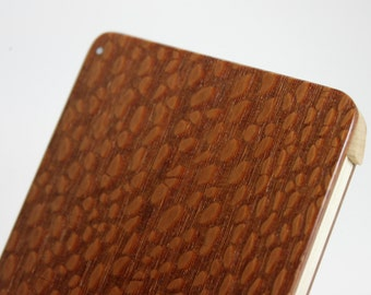 Wood Business Card Holder (Leopardwood)