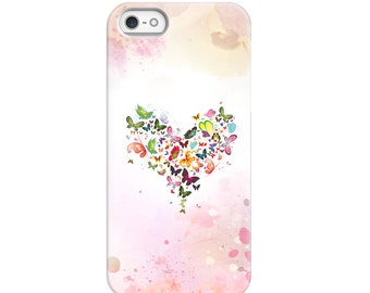 Butterfly Heart Phone Case