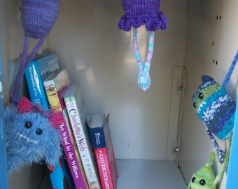 Locker Monster Knitt Pattern E-book