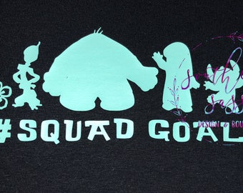 Lilo and Stitch Squad Goals Disney Shirt