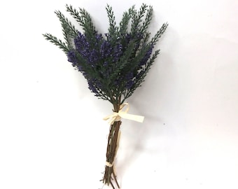 Artificial Purple Heather Bush|Artificial Flower|Artificial Leaves|Artificial Orchid|Silk Flowers|Flux Flowers|Artificial Floral Bunch
