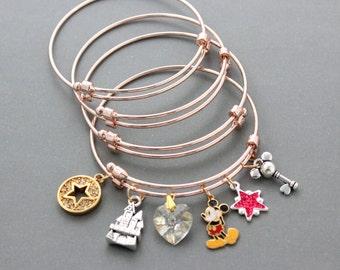 4 Pcs High Quality Lovely Adjustable Bangle Bracelets