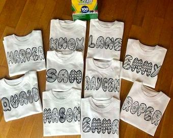 Color me shirts!