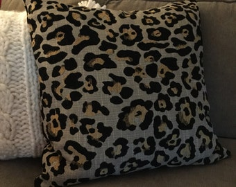 Leopard Print Pillow Cover