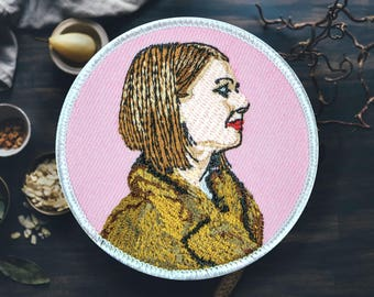 "Is This Coat A Little Much? | Sew On | Embroidered | Patches for Jackets | 2.75"" (Free Shipping US)"