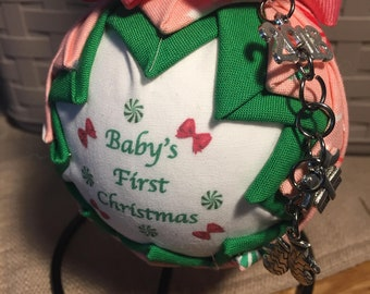 Baby's First Christmas Ornament baby shower gift