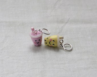 Stitchmarkers - Bubble Tea - Stitch Markers