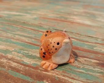 Brown Finch Ceramic Little Guys Figurine