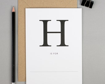 Well done card, hygge card, high five, h is for, hen night card, happy birthday, hello card, hi there, house warming, happy new home