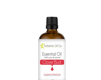 Clove Bud Essential Oil 100% Pure 10ml 50ml 100ml