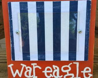 Auburn Tigers - War Eagle photo frame