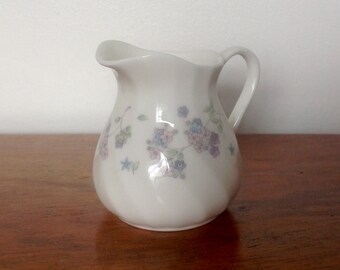 Wedgwood 'April Flowers' Small Cream Jug. 1980's.