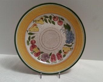 Stangl Della-Ware Festival 10'' Plate #3677