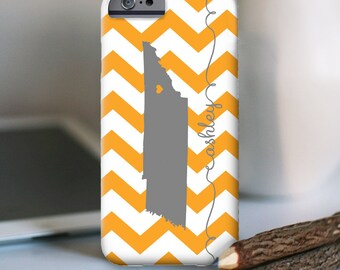 iPhone 7 Personalized Case  - Chevron State love  - other models available