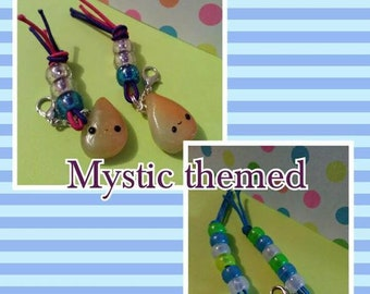 Mystic Themed Kawii Polymer Clay Charms vaious