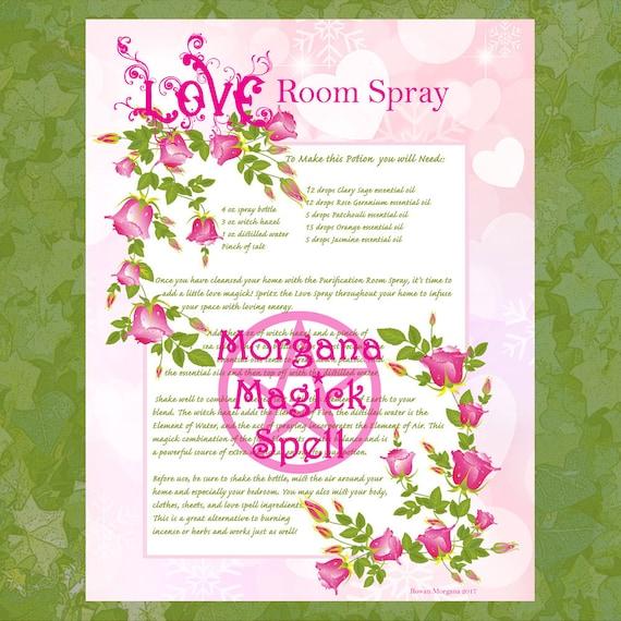 Love Room Spray Potion