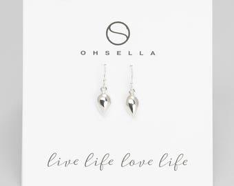 Dangle Earrings, Sterling silver Earrings, Dainty Sterling Silver Earrings, Everyday Earrings, Small Earrings, Tiny Earrings (2152E)