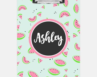 Watermelon Clipboard | Personalized Clipboard | Teacher Clipboard | School Clipboard