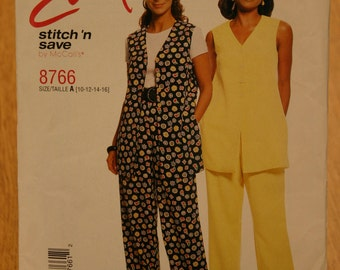 Easy Stitch 'n Save by McCall's Misses Pattern 8766 Sizes 10-16