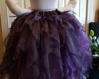 DDNJ Choose Your Color Long Fairy Skirt Plus Custom Made ANY Size Renaissance Pirate Gypsy Witch LARP Cosplay Costume Halloween