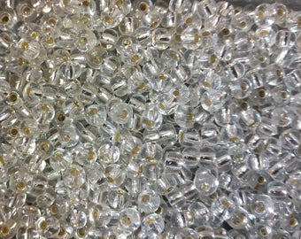 20g silver seed beads (bag with 20g), tiny beads, small beads,jewelry supplies, 4mm beads,glass beads (GB38)