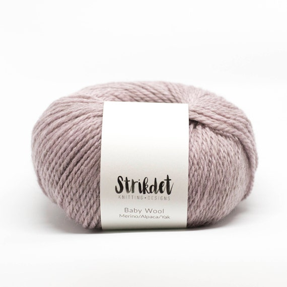 STRIKDET Baby Wool - dusty rose